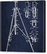 Vintage Tripod Patent Drawing From 1941 Canvas Print