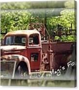 Vintage Truck Canvas Print