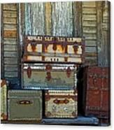 Vintage Trunks   Sold Canvas Print
