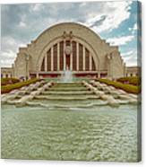 Vintage Union Terminal Canvas Print
