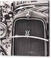 Vintage V8 Canvas Print