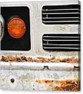 Vintage Van. Canvas Print
