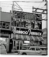 Vintage Vancouver 1961 Canvas Print