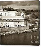 Vintage Vltava Canvas Print