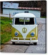 Vintage Volkswagen Bus Canvas Print
