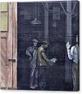 Vintage Warehouse Canvas Print