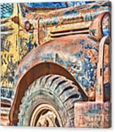 Vintage Welding Truck Canvas Print