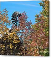 Vintage Wind Power Canvas Print