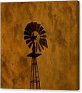 Vintage Windmill  Canvas Print