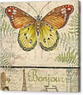 Vintage Wings-paris-l Canvas Print
