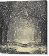 Vintage Winter Canvas Print