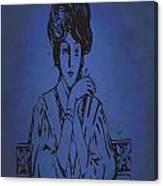 Vintage Women Color Art 86 Canvas Print