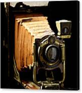 Vintaged Canadian Kodak Camera Canvas Print