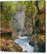 Vintgar Gorge Canvas Print