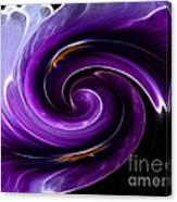 Viola Swirl Canvas Print