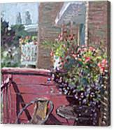 Viola's Balcony Canvas Print
