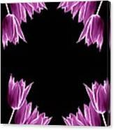 Violet Bells Canvas Print