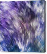 Violet Breeze Canvas Print