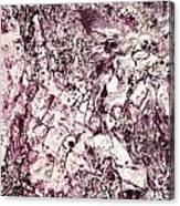 Violet Close Up Canvas Print