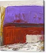 Violet Roof Canvas Print