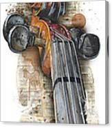 Violin 01 Elena Yakubovich Canvas Print