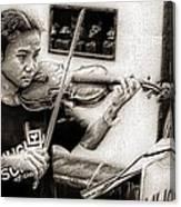 Violin Ensemble Canvas Print