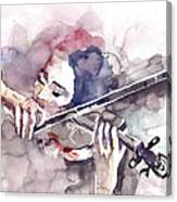 Violin Prelude Canvas Print