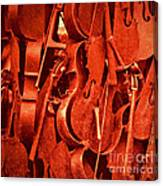 Violin Sculpture  Canvas Print