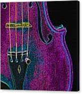 Violin Viola Body Photograph In Digital Color 3265.03 Canvas Print