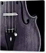 Violin Viola Body Photograph Or Picture In Sepia 3265.01 Canvas Print