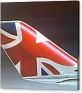 Virgin Atlantic Winglet Canvas Print