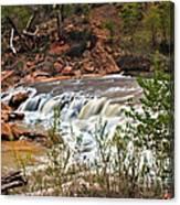 Virgin Falls Canvas Print