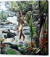 Virgin Forest Canvas Print
