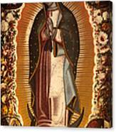 Virgin Of Guadalupe Canvas Print