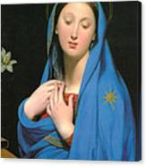 Virgin Of The Adoption Canvas Print