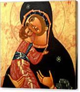 Virgin Of Vladimir Canvas Print