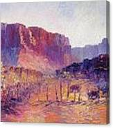 Virgin Valley View Canvas Print