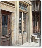 Virginia City Storefronts Canvas Print