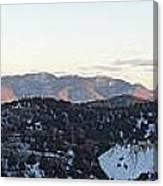 Virginia City View  Canvas Print