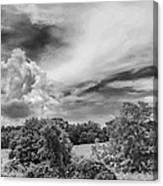 Virginia Clouds Canvas Print