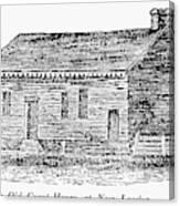 Virginia Court House Canvas Print