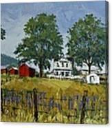 Virginia Highlands Farm Canvas Print