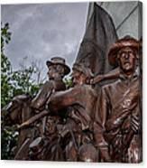 Virginia Memorial At Gettysburg Canvas Print