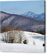 Virginia Mountain High Canvas Print