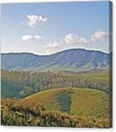 Virginia Mountains  Canvas Print