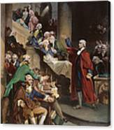 Virginia: Patrick Henry, 1765 Canvas Print