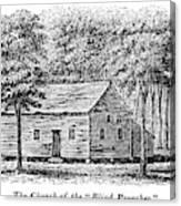 Virginia Rural Church Canvas Print