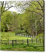 Virginia Spring Canvas Print