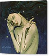 Virgo  From Zodiac Series Canvas Print