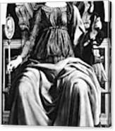 Virtues Prudence C1470 Canvas Print
